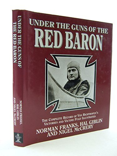 Under The Guns Of The Red Baron,: Franks Norman, Giblin