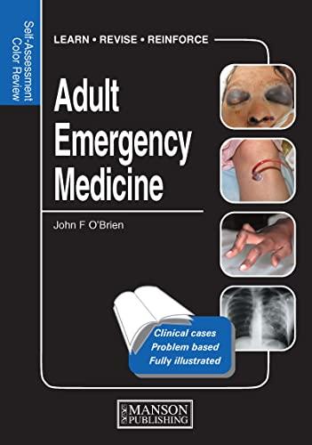 9781840761788: Adult Emergency Medicine: Self-Assessment Color Review (Medical Self-Assessment Color Review Series)