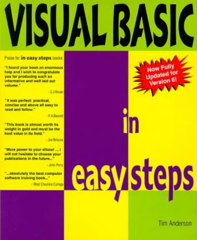 Visual Basic 6 in Easy Steps: Visual: Anderson, Tim