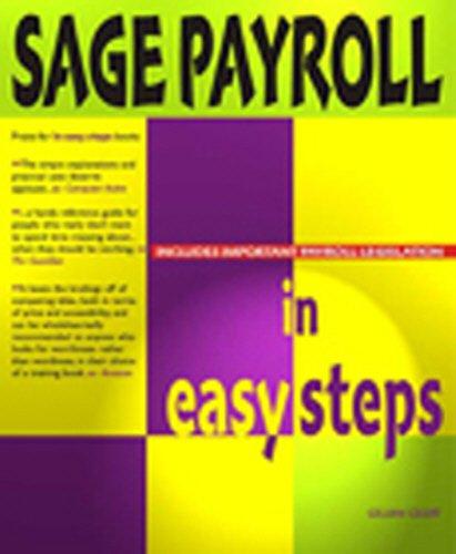 9781840780819: Sage Payroll in Easy Steps (In Easy Steps Series)