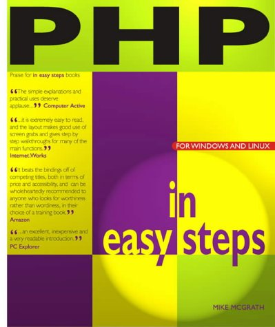 9781840782073: PHP in Easy Steps (In Easy Steps)