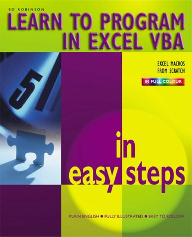 Excel VBA in Easy Steps: Robinson, Ed
