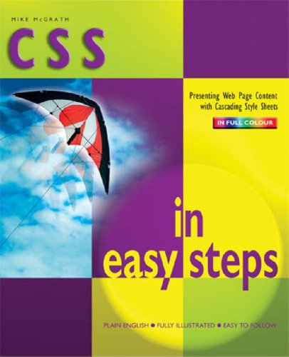 9781840783018: CSS in Easy Steps