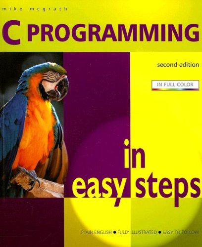 9781840783230: C Programming in Easy Steps
