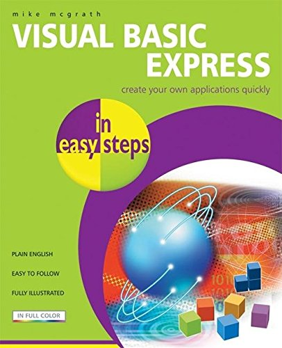 9781840783292: Visual Basic Express in easy steps