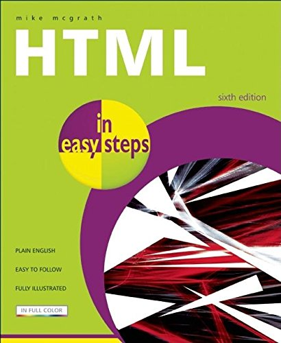9781840783599: HTML In Easy Steps 6th Edition