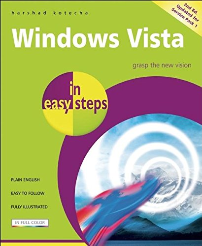 9781840783667: Windows Vista in easy steps: Updated for Service Pack 1
