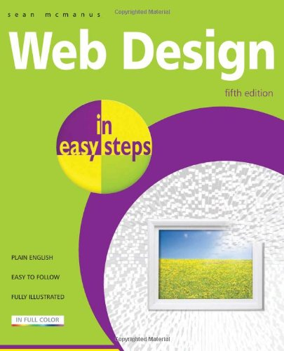 9781840783803: Web Design in easy steps: 5th Edition