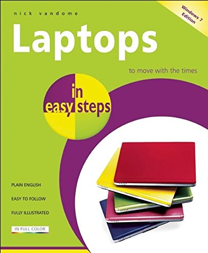 9781840784022: Laptops in Easy Steps: Covers Windows 7