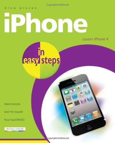 9781840784152: iPhone in easy steps: Covers iPhone 4