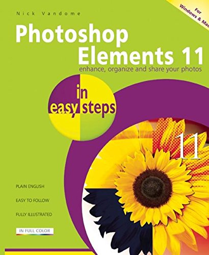 Photoshop Elements 11 in Easy Steps: Vandome, Nick