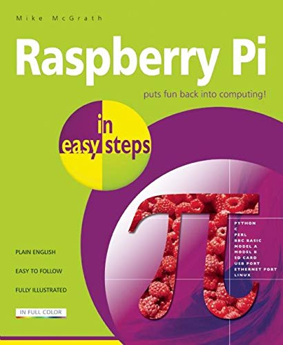 9781840785814: Raspberry Pi in easy steps