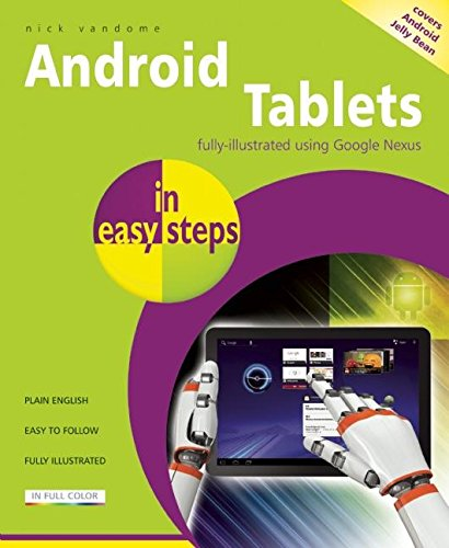 9781840785890: Android Tablets in easy steps