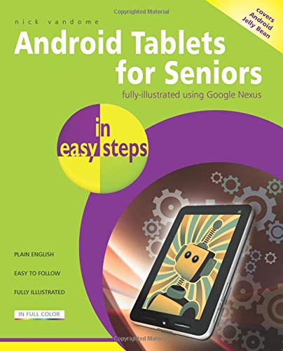 9781840785906: Android Tablets for Seniors in easy steps