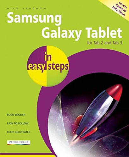 Samsung Galaxy Tablet in easy steps: For: Vandome, Nick