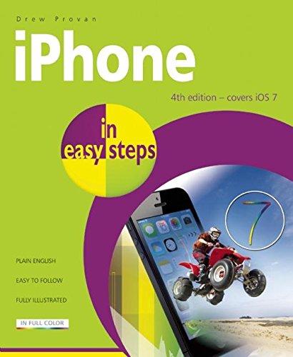 iPhone in Easy Steps: Provan, Drew