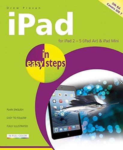 iPad in Easy Steps: Provan, Drew