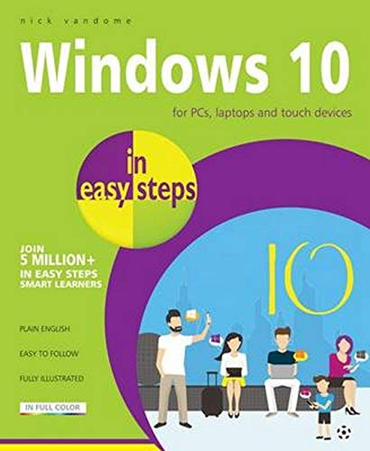 9781840786439: Windows 10 in easy steps
