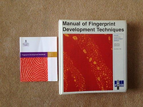 9781840823479: Fingerprint Development Handbook: Police Scientific Development Branch