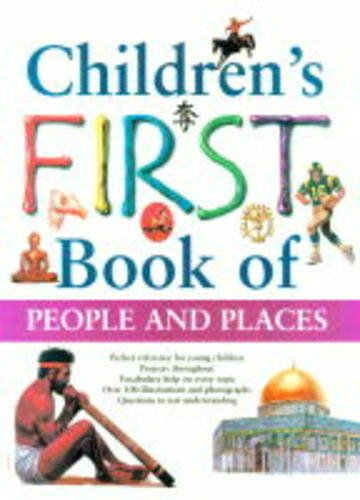 9781840840476: Children's First Book of People and Places