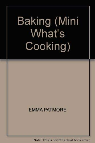 9781840842791: Baking (Mini What's Cooking)