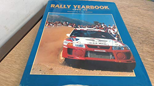 9781840843897: Rally Driving Yearbook: 1998/99