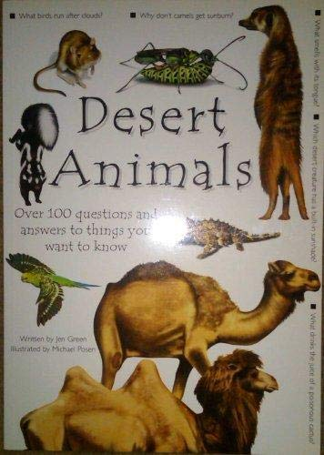 9781840847765: Desert Animals: Over 100 Questions and Answers to Things You Want To Know