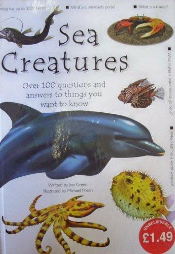 9781840847802: Sea Creatures