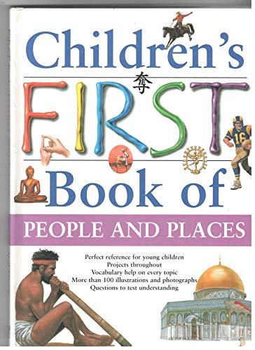 9781840847932: Children's First Book of People and Places