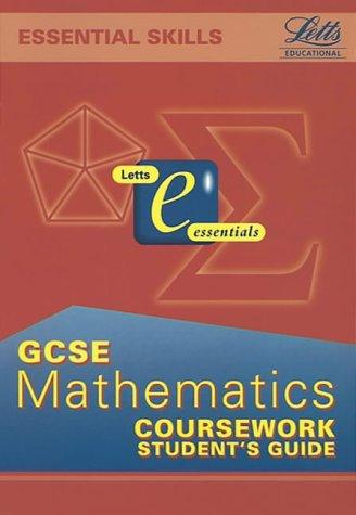 9781840851656: General Certificate of Secondary Education Mathematics: Coursework (GCSE Essentials)