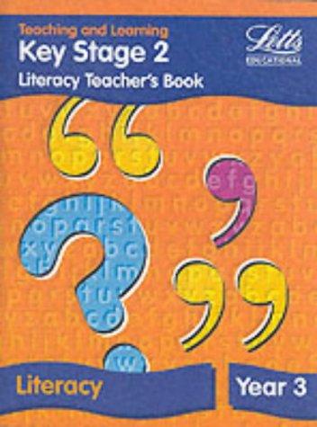 9781840852424: Key Stage 2: Literacy Teacher's Book - Year 3 (Key Stage 1 literacy textbooks)