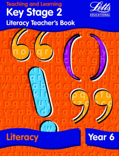 9781840852455: KS2 Literacy Teacher's Book: Year 6 (Letts Primary Activity Books for Schools)