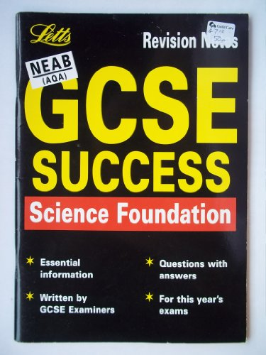 9781840852882: GCSE Science: Foundation Revision Notes, NEAB (GCSE revision & exam preparation)