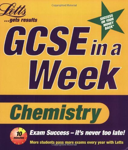 9781840853421: Chemistry (Revise GCSE in a Week S.)