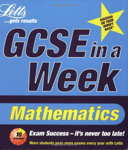 GCSE in a Week: Mathematics (Revise GCSE: Cope, Lee and