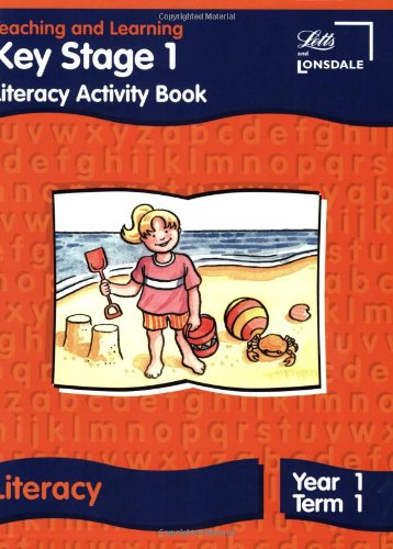 9781840853872: Key Stage 1 Literacy: Year 1, Term 1: Activity Book (Letts Primary Activity Books for Schools)
