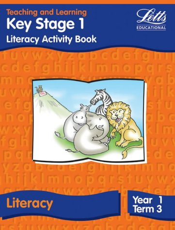 9781840854497: Key Stage 1 Literacy: Year 1, Term 3: Activity Book (Letts Primary Activity Books for Schools)