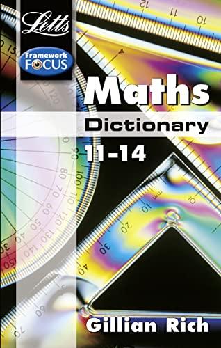 9781840856972: Letts Maths Dictionary 11-14 (Letts Framework Focus)