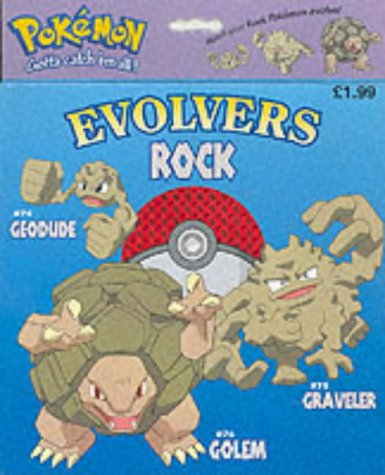 9781840883299: Geodude: Rock Pokemon (Pokemon Evolvers)
