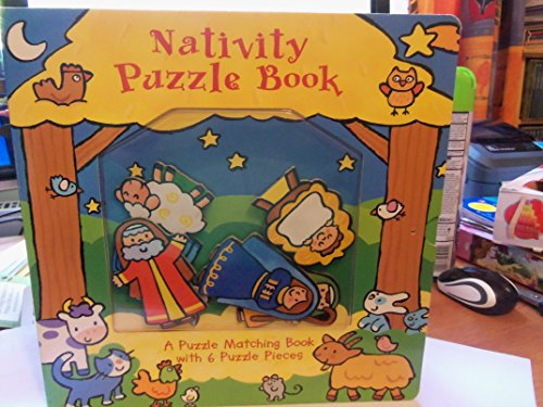 NATIVITY PUZZLE BOOK: ZOBEL-MOLAN, Allia