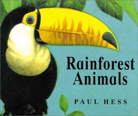 9781840891669: Rainforest Animals (Animal Worlds)