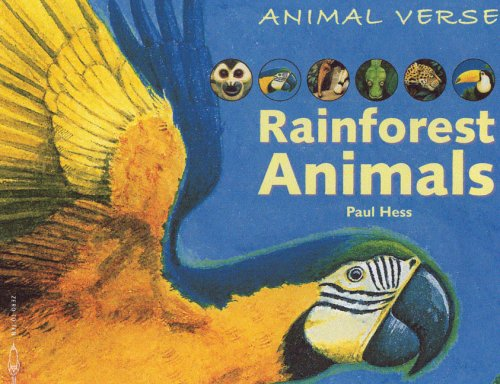 9781840895605: Rainforest Animals (Animal Verse series)