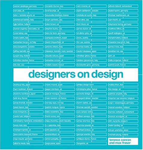 9781840914009: Designers on Design