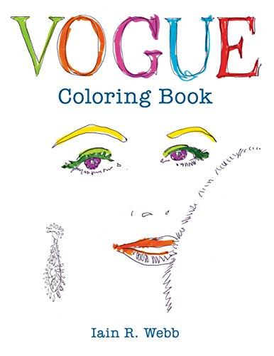 9781840917260: Vogue Coloring Book