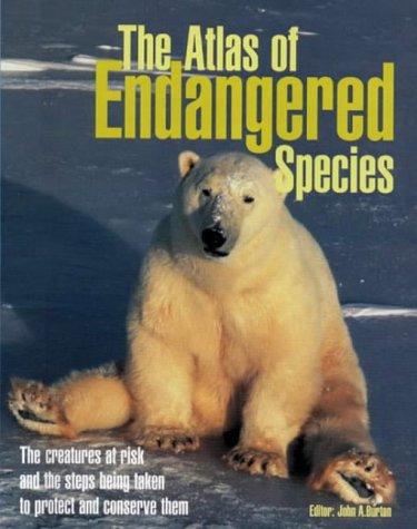 9781840922516: Atlas of Endangered Species
