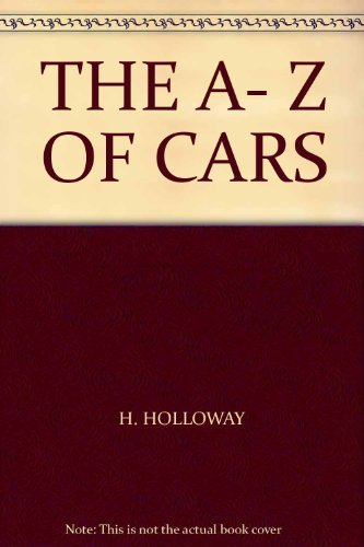 9781841001166: THE A- Z OF CARS