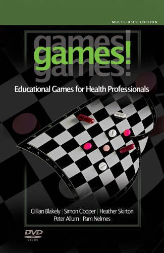 9781841022765: Games! Games! Games!: Educational Games for Health Professionals (Multi-User Edition)