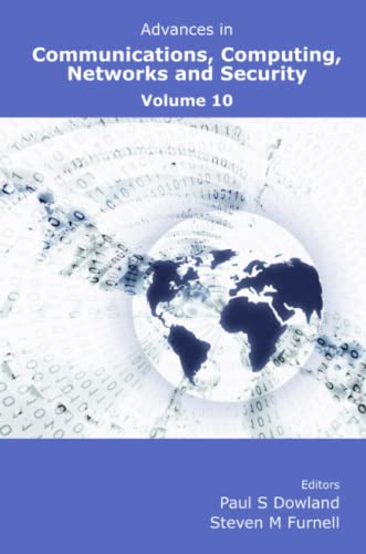 9781841023588: Advances in Communications, Computing, Networks and Security: Volume 10