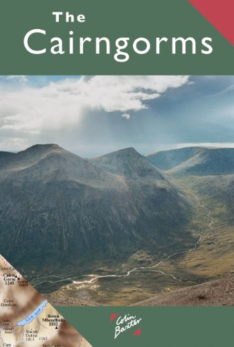 9781841073828: The Cairngorms Map (Colin Baxter Maps)