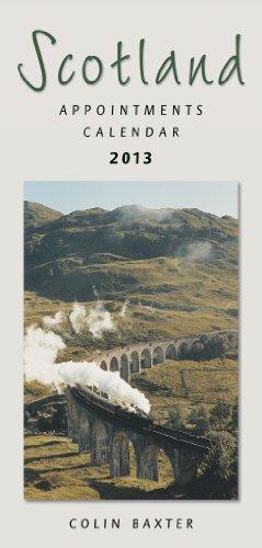Scotland Appointments 2013 Calendar: Baxter, Colin